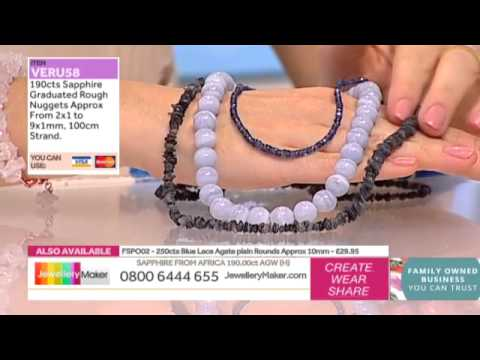 How to Make Beaded Jewellery: JewelleryMaker LIVE 3/07/2015