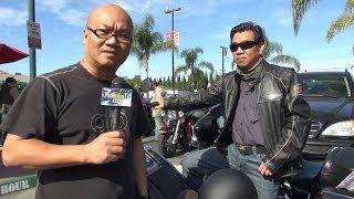 Luật sư Đỗ Phủ và nhóm mô-tô gốc Việt VHOG ở Little Saigon