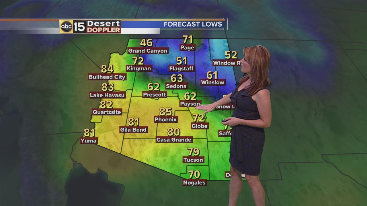 FORECAST: Cool, Dry Weekend Ahead