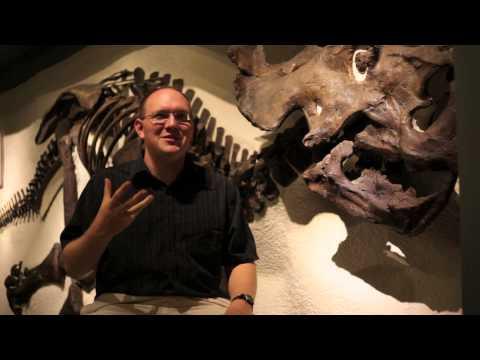 Dr. Farke and the Hadrosaur