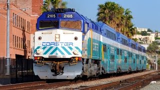 San Diego Coaster Trains