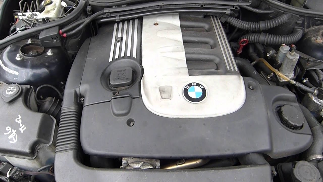 BMW 330d engine - YouTube