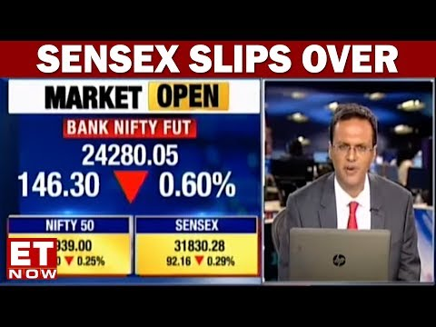 Sensex Slips Over 200 Points; Nifty Below 9900; Adani Ports Cracks 3%