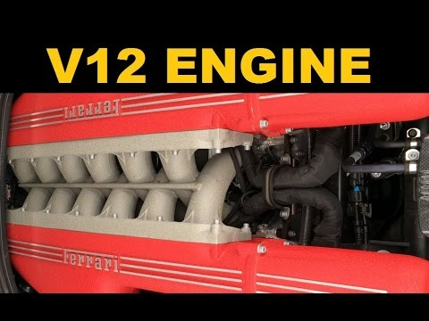 V12 Engine - V12 Cars - Explained