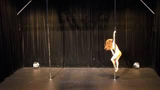 Laurane Millet - Pro - Belgian Pole Dance Championship 2018
