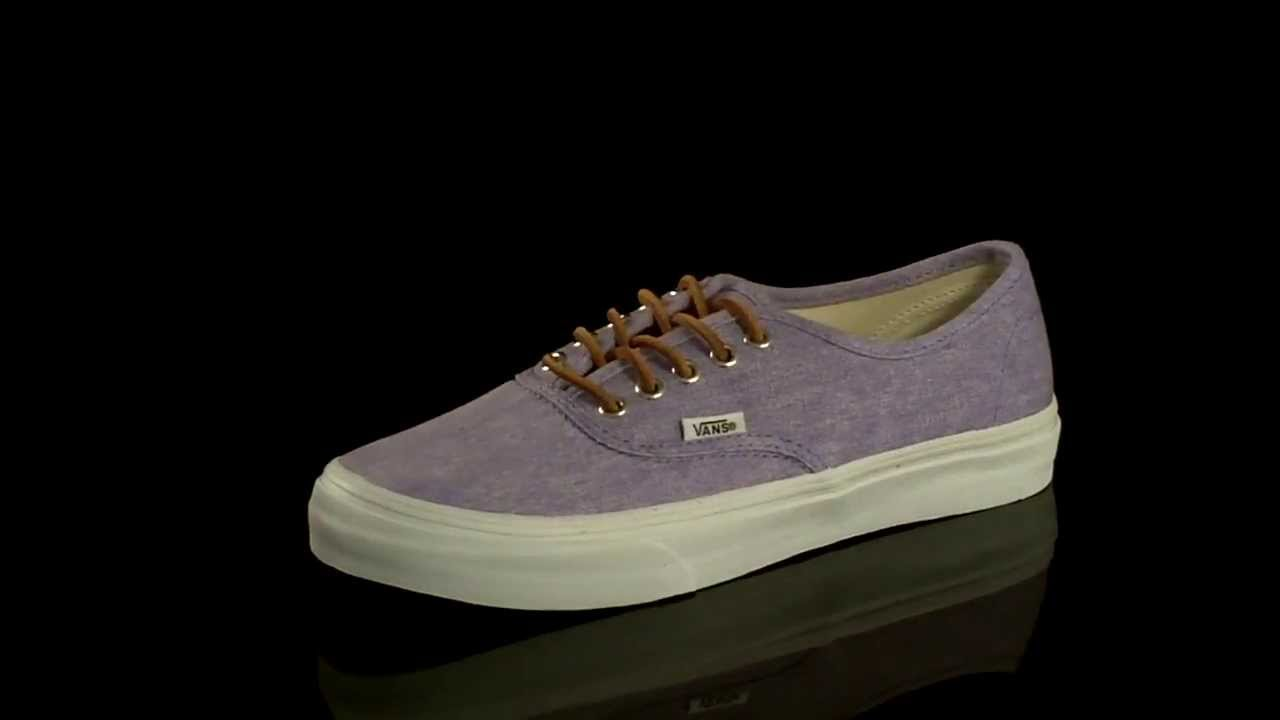 vans authentic slim washed canvas sneaker
