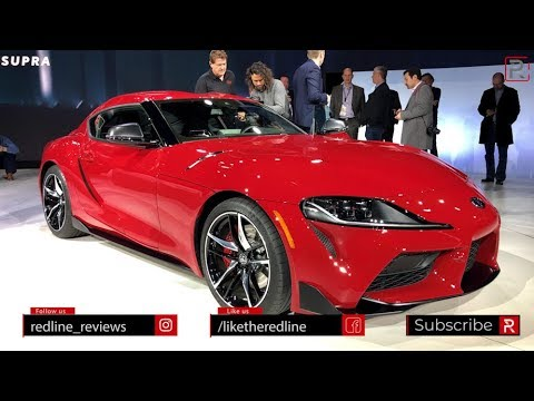 2020 Toyota Supra – Redline: First Look – 2019 NAIAS