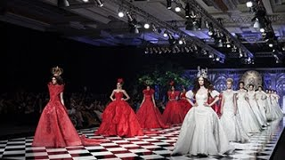 fashion show haute couture wonderland monica ivena