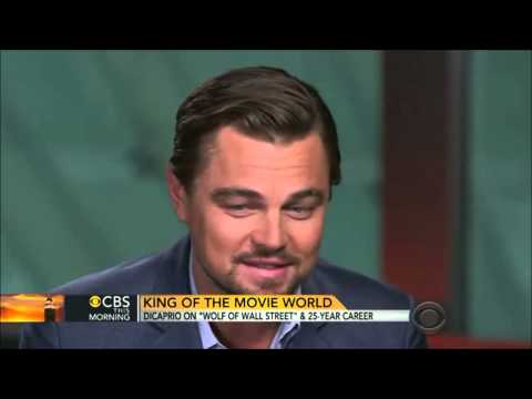 Leonardo DiCaprio CBS This morning Interview