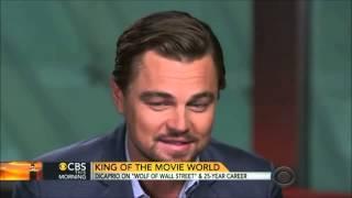 Leonardo DiCaprio CBS This morning Interview