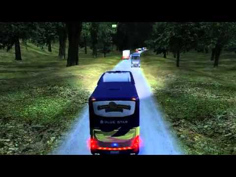UK Truck Sim - BLUE STAR Test Driving