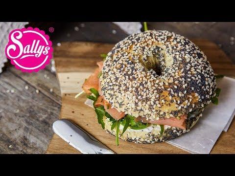 Bagels – das Rezept / weiche, luftige Brötchen