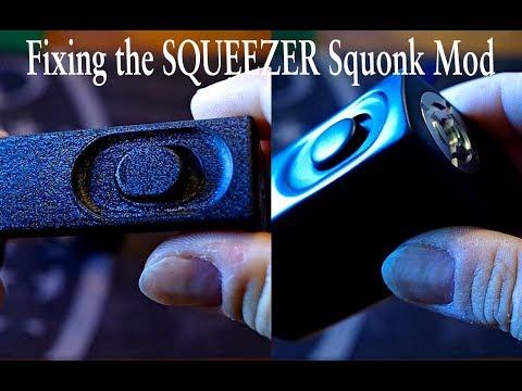 Squeezer squonk mod, polish & fix