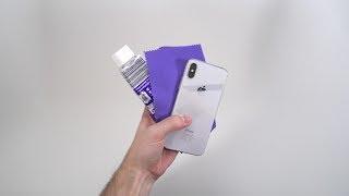 KRATZER einfach aus dem iPhone X entfernen! - Techniklike