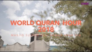 #WorldQuranHour Di Masjid Sultan Haji Ahmad Shah UIA