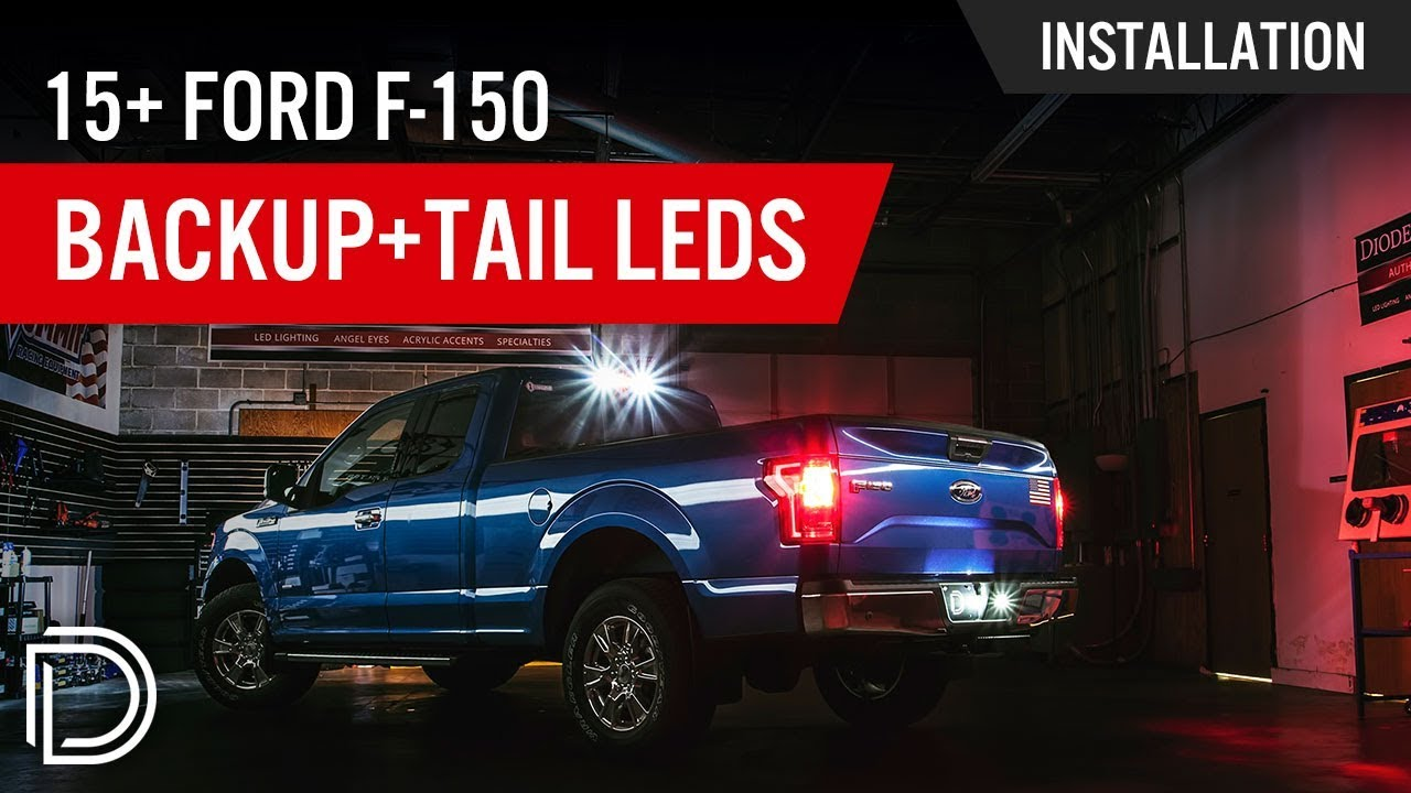 How To Install 2015 Ford F 150 Reverse Tail Light Leds Youtube F250 Rear View Camera Wiring Diagram