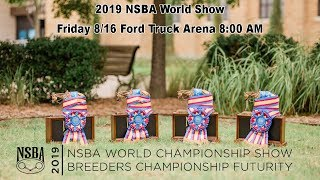 NSBA World Show - Friday, 8/16 Ford Truck Arena 8:00 AM