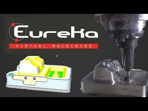 CNC MACHINING_GROB G550 - Eureka Virtual Machining 8.5
