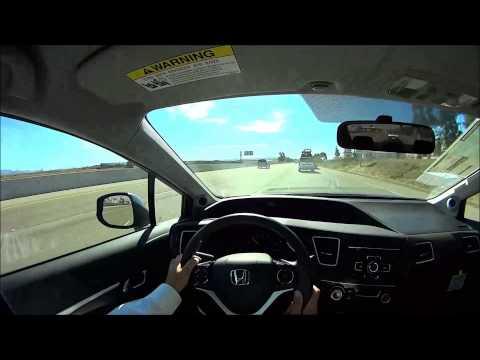 2013 Honda Civic EX Sedan POV Test Drive