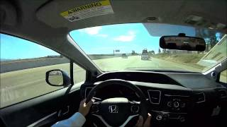 2013 Honda Civic EX Sedan POV Test Drive(If you found this video helpful, please subscribe! I have committed to reviewing new Honda Autos every time a new one reaches my lot. I am in sales, so I get the ..., 2013-11-06T19:57:08.000Z)