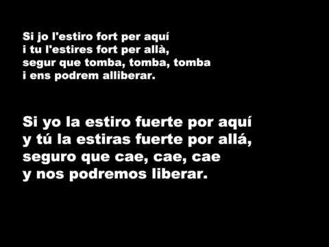 Lluis Llach   Lestaca Letra en Catalán y en Castellanowmv