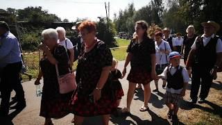 Korowód dożynkowy w Witostowicach