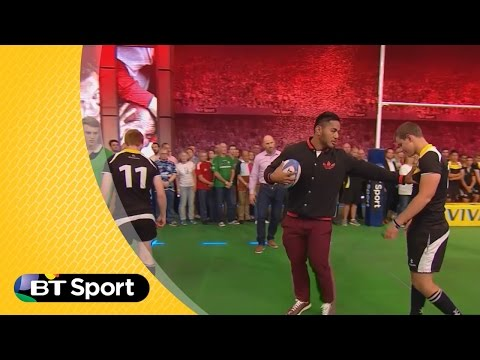 Pitch Demo: Manu Tuilagi attacking masterclass | Rugby Tonight