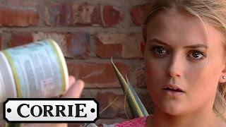 Gary Finds Bethany's Diet Pills - Coronation Street