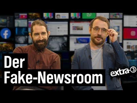 Der Fake-Newsroom   Extra 3   NDR
