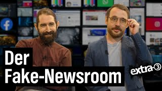 Der Fake-Newsroom