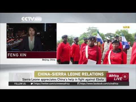 Sierra Leone's President Ernest Bai Koroma heads to China