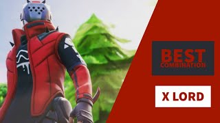 Best Combos | X Lord | Fortnite Skin Review
