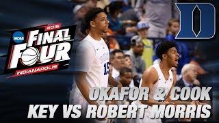 2015 NCAA Tournament Preview: Duke vs Robert Morris | ACC Road to Indy