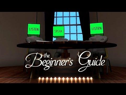 The Beginner's Guide : A Primeira Meia Hora