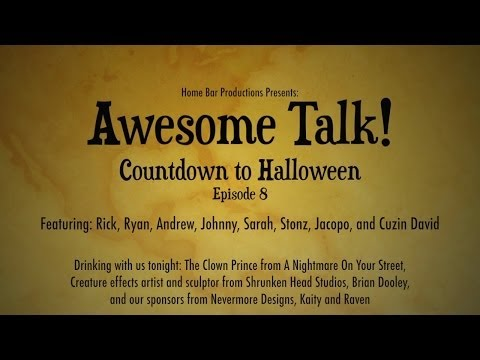AWESOME TALK! Ep. # 8 10.22.13 (Brian Dooley, Mr. J, Nevermore Designs)