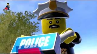 Мультики ЛЕГО СИТИ про Машинки на русском языке, Мультфильм про полицию LEGO CITY 2 серия