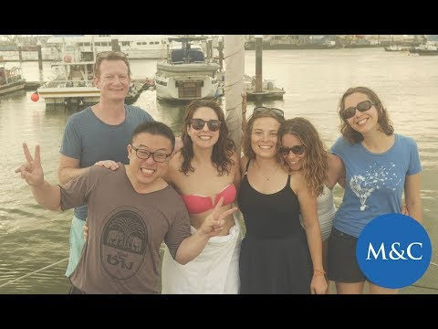 The M&C team goes to Singapore!