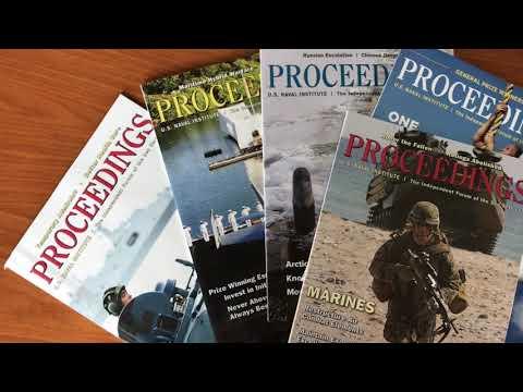 Why Join the U.S. Naval Institute? -- Gen John R. Allen, USMC (Ret.)