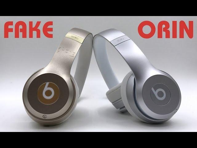 Cách phân bi?t Tai nghe Beats Solo 2 Wireless Chính hãng và Fake