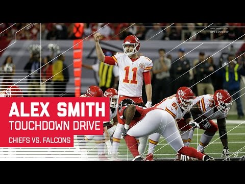 Alex Smith Guides Chiefs Down the Field for a TD! | Chiefs vs. Falcons | NFL