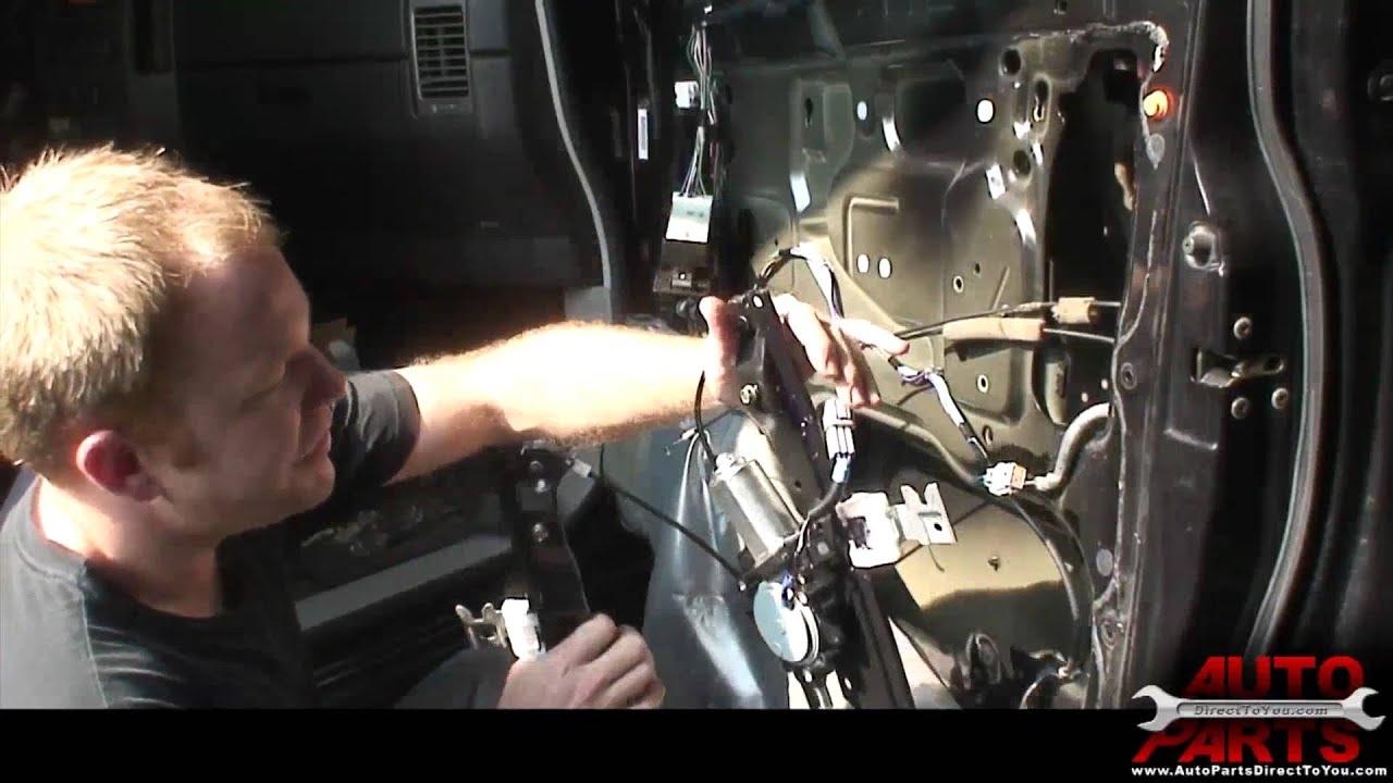 hight resolution of 2004 nissan titan armada qx56 window motor part 2