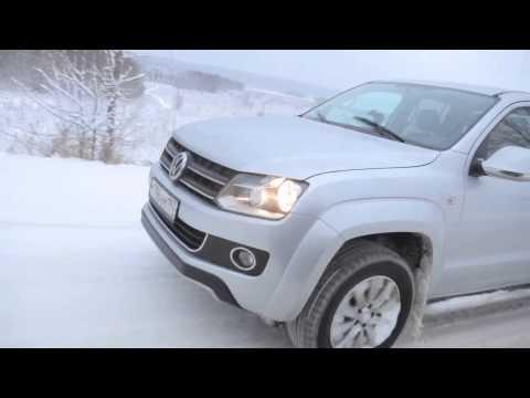 Тест-драйв Volkswagen Amarok с механической коробкой передач