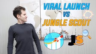 Amazon FBA Product Research Tool GAME CHANGER! Viral Launch Vs Jungle Scout!