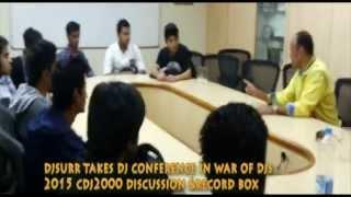 djsurr takes djing conference war of djs 2015