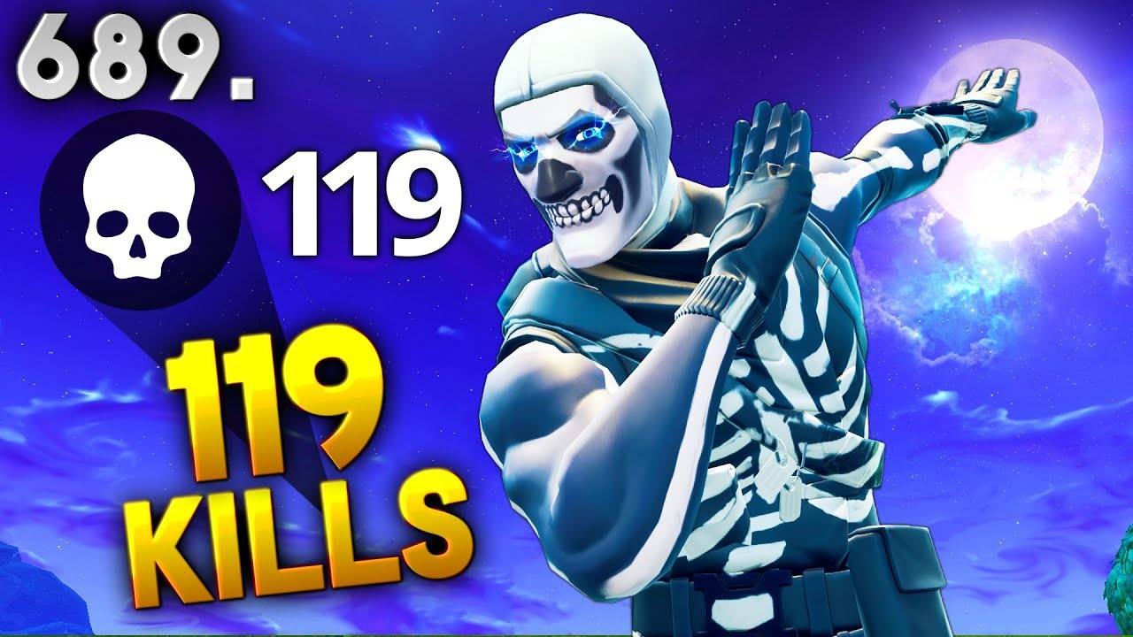 *NEW IMPOSSIBLE RECORD* 119 KILLS..!!! Fortnite Funny WTF Fails and Daily Best Moments Ep.689
