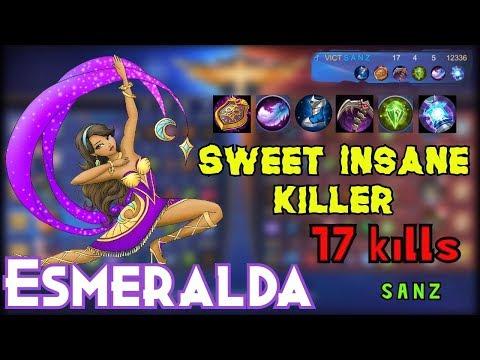 Sweet Insane Killer By S A N Z - Mobile Legends