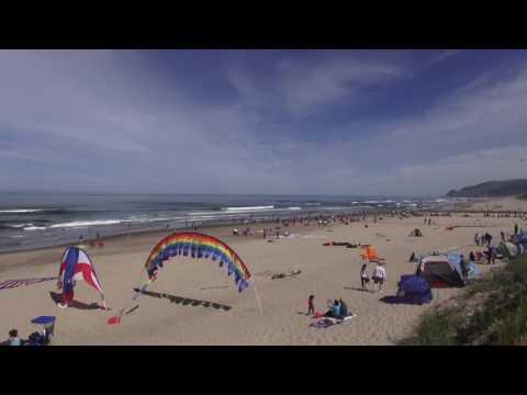 ♥♥ Very Relaxing 4 Hour Video of Ocean Beach!