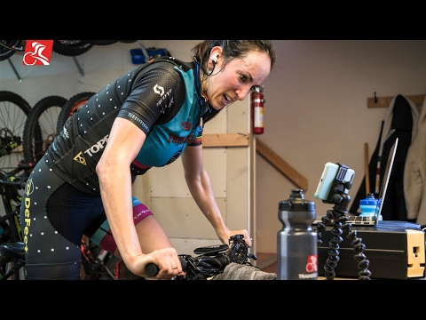 24-Hour World Champion Sonya Looney Trains Indoors and Wins