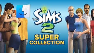 Let's play the Sims 2 super collection on mac