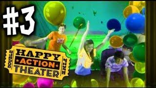 Happy Action Theater  - #3 - Joey Graceffa Missglamorazzi Jason Munday - Xbox 360 Kinect